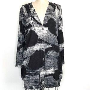 Rebecca Moses L cardigan sweater